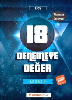 Uzman Kariyer KPSS Matematik Tamamı Çözümlü 18 Deneme