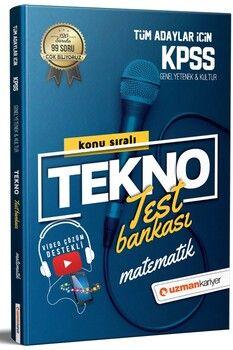 Uzman Kariyer KPSS Matematik Tekno Konu Test Bankası