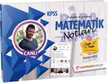 Uzman Kariyer KPSS Matematik Notları