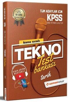 Uzman Kariyer KPSS Tarih Tekno Test Bankası