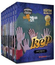 Uzman Kariyer Yayınları KPSS 2017 KEP Eğitim Bilimleri Konu Anlatımlı Modüler Set