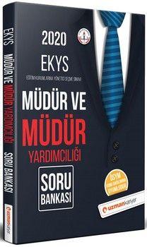 Uzman Kariyer Yayınları 2020 EKYS Müdür ve Müdür Yardımcılığı Soru Bankası