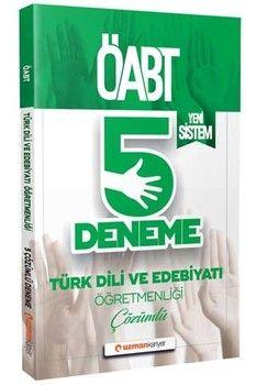 Uzman Kariyer Yayınları 2020 ÖABT Türk Dili ve Edebiyatı Öğretmenliği Çözümlü 5 Deneme