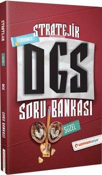 Uzman Kariyer Yayınları DGS Türkçe Sözel Bölüm Stratejik Çözümlü Soru Bankası