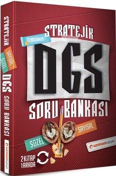 Uzman Kariyer YayınlarıDGS Sözel Sayısal Bölüm Stratejik Çözümlü Soru Bankası
