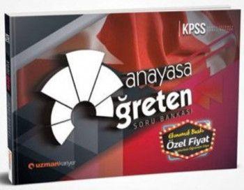 Uzman Kariyer Yayınları KPSS Anayasa Öğreten Soru Bankası