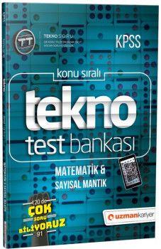 Uzman Kariyer Yayınları KPSS Matematik Sayısal Mantık Tekno Test Bankası