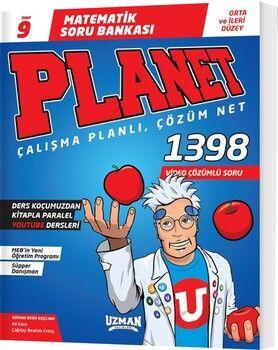 Uzman Yayınları 9. Sınıf Matematik Planet Soru Bankası