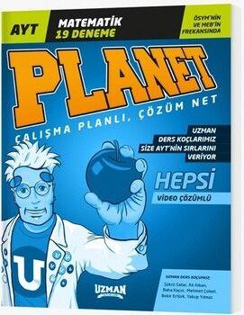 Uzman Yayınları AYT Matematik Planet 19 Deneme