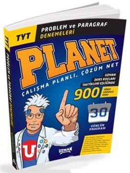 Uzman Yayınları TYT Problem ve Paragraf Planet Denemeleri