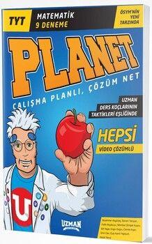 Uzman Yayınları TYT Matematik Planet 9 Deneme