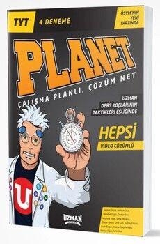 Uzman Yayınları TYT Planet 4 Deneme