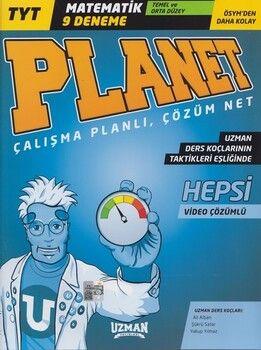 Uzman Yayınları TYT Planet Matematik Temel ve Orta Düzey 9 lu Deneme
