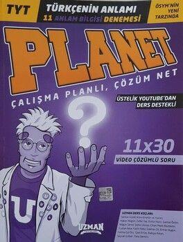 Uzman Yayınları TYT Türkçenin Anlamı Planet 11 Deneme