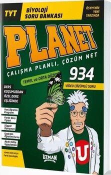 Uzman YayınlarıTYT Biyoloji Planet Soru Bankası