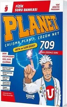 Uzman Yayınları9. Sınıf Fizik Planet Soru Bankası