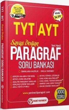 Veri Yayınları TYT AYT Paragraf Soru Bankası