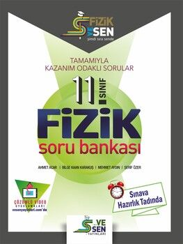 Vesen Yayınları 11. Sınıf Fizik Soru Bankası