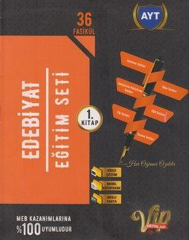 Vip Yayınları AYT Edebiyat Eğitim Seti 1. Kitap