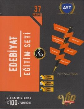 Vip Yayınları AYT Edebiyat Eğitim Seti 2. Kitap