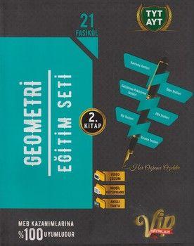 Vip Yayınları TYT AYT Geometri Eğitim Seti 2. Kitap