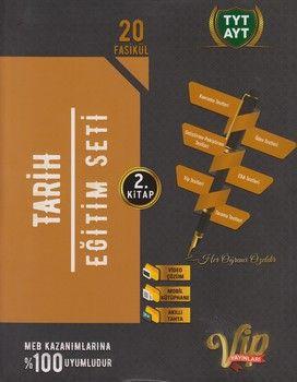 Vip Yayınları TYT AYT Tarih Eğitim Seti 2. Kitap