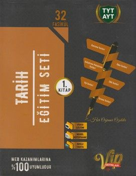 Vip Yayınları TYT AYT Tarih Eğitim Seti 1. Kitap