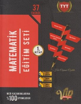 Vip Yayınları TYT Matematik Eğitim Seti 1. Kitap