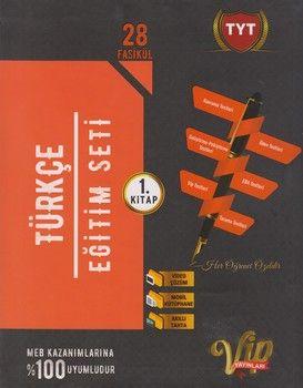 Vip Yayınları TYT Türkçe Eğitim Seti 1. Kitap