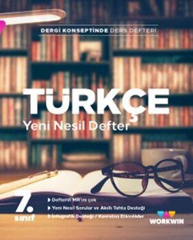 Workwin Yayınları 7. Sınıf Türkçe Yeni Nesil Defter