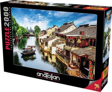 Xitang Antik Şehri  Xitang Ancient Town  2000 Parça Yapboz