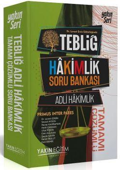 Yakın Eğitim Yayınları Adli Hakimlik Tamamı Çözümlü Soru Bankası