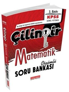 Yaklaşım Kariyer Yayınları KPSS Matematik Çilingir Çözümlü Soru Bankası