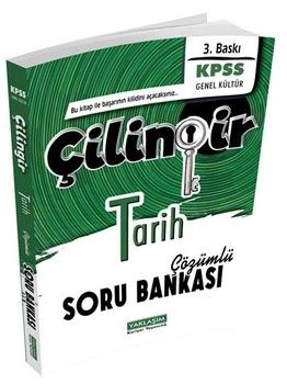 Yaklaşım Kariyer Yayınları KPSS Tarih Çilingir Çözümlü Soru Bankası