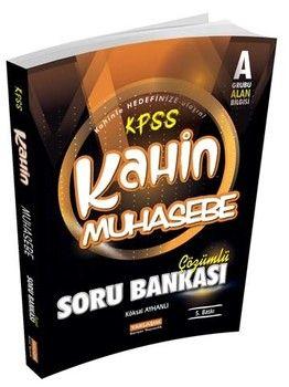 Yaklaşım Kariyer Yayınları KPSS A Kahin Muhasebe Çözümlü Soru Bankası
