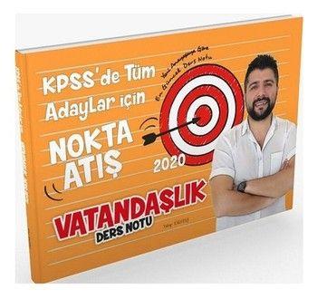 Yakup Karataş 2020 KPSS Vatandaşlık Nokta Atış Ders Notları
