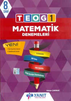 Yanıt Yayınları 8. Sınıf TEOG 1 Matematik Denemeleri
