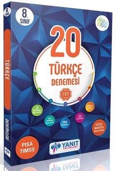 Yanıt Yayınları 8. Sınıf Türkçe 20 li Branş Denemesi