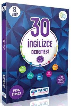 Yanıt Yayınları 8. Sınıf İngilizce 30 lu Branş Denemesi