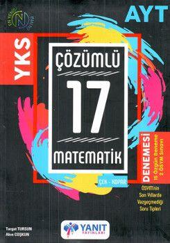 Yanıt Yayınları YKS 2. Oturum AYT Matematik  Çözümlü 17 Deneme