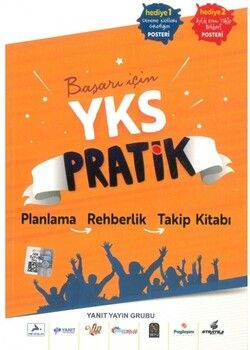 Yanıt Yayınları YKS Pratik Planlama Rehberlik Takip Kitabı