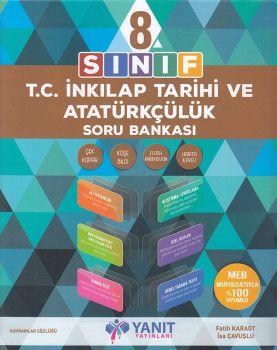 Yanıt Yayınları 8. Sınıf T.C. İnkılap Tarihi ve Atatürkçülük Soru Bankası