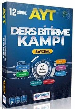 Yanıt Yayınları AYT Sayısal Ders Bitirme Kampı