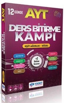 Yanıt Yayınları AYT Eşit Ağırlık Sözel Ders Bitirme Kampı