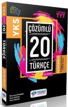 Yanıt Yayınları TYT Türkçe Çözümlü Çek Kopar 27 Denemesi