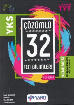 Yanıt Yayınları TYT Fen Bilimleri 32 Çözümlü Denemesi
