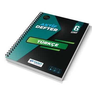 Yanıt Yayınları 6. Sınıf Aktif Defter Türkçe