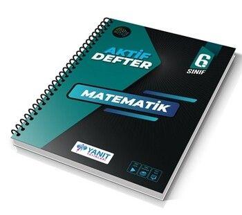 Yanıt Yayınları 6. Sınıf Aktif Defter Matematik