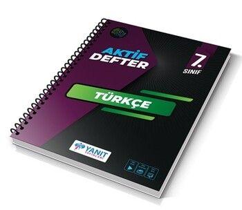 Yanıt Yayınları 7. Sınıf Aktif Defter Türkçe