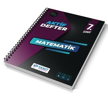 Yanıt Yayınları 7. Sınıf Aktif Defter Matematik